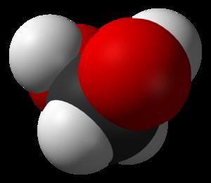 Methanediol - Image: Methanediol 3D vd W