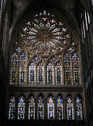 Rose Window in Metz Cathedral