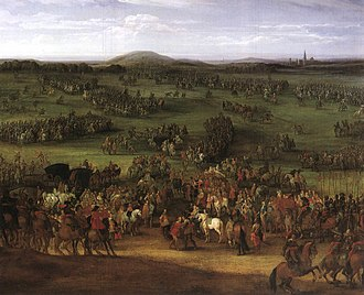 1634 in Sweden - The Battle of Nördlingen by Pieter Meulener