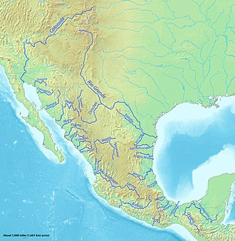 Pánuco River - Image: Mexico rivers