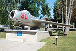 MiG-15 in Vinnytsia UAF museum 2016.jpg
