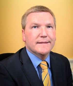 Michael McGrath (politician) - Image: Michael Mc Grath (official portrait)