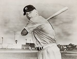 Home Run Derby (TV series) - Mickey Mantle, who hit the most home runs on the show