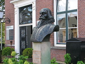 Jan Leeghwater - Bust of Jan Adriaanszoon Leeghwater, Middenbeemster
