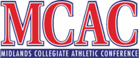 Midlands Collegiate Athletic Conference logo