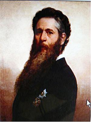 Miguel Navarro Cañizares - Self-portrait (1886)