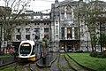 Milán, Centrale FS, tramvaj.jpg