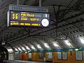 Milano - stazione ferroviaria Repubblica - display.JPG