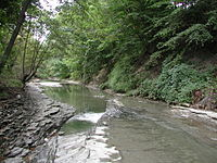 Mill Creek in City downstream from 38th.jpg