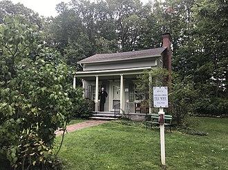 Fillmore House - Image: Millard Fillmore Presidential Site, East Aurora NY 2017