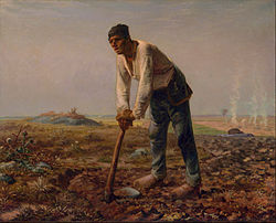 Jean-François Millet: Man with a Hoe