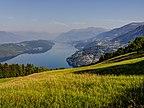 Austria - Karyntia, Gschriet, Widok z domu gościn