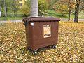 Milotice nad Opavou, kontejner tříděného odpadu.jpg