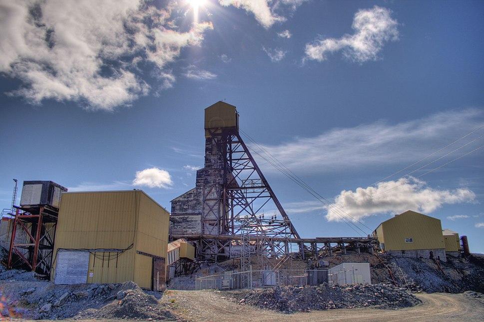 Mine Building Giant Mine Yellowknife Northwest Territories Canada 12