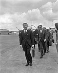 Minister van Financien van Italie Colombo op Schiphol, Bestanddeelnr 919-3919.jpg