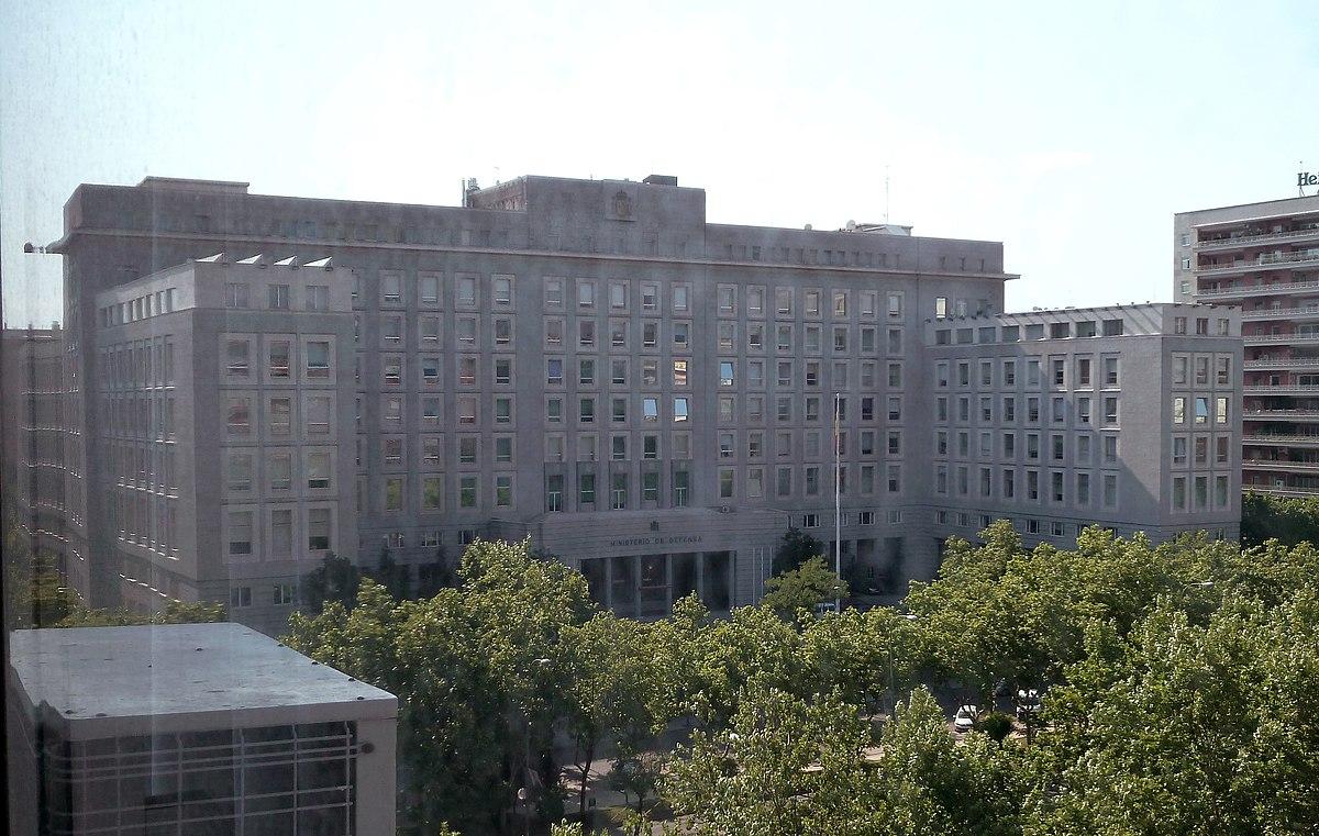 Ministerio de defensa espa a wikipedia la for Competencias del ministerio del interior