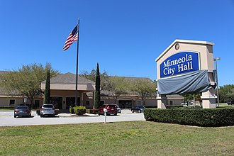 Minneola, Florida - City hall