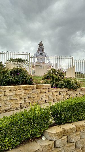 Minto, New South Wales - Shiva statue in Minto Shiva Temple
