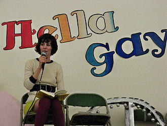 Miranda July - Miranda July reading at Modern Times Bookstore in San Francisco