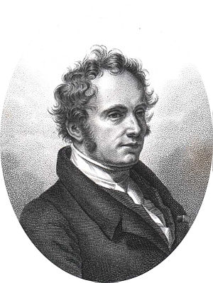 Charles-François Brisseau de Mirbel - Portrait of Charles-François Brisseau de Mirbel