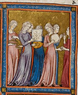 Miriam, the golden Haggadah