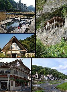 Misasa, Tottori Town in Japan