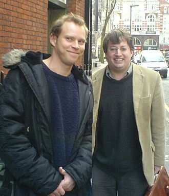Mitchell and Webb - Robert Webb and David Mitchell in 2007