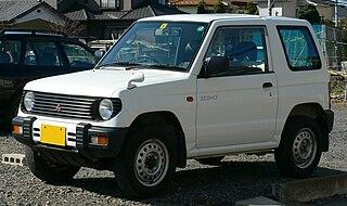 Mitsubishi Pajero Mini Motor vehicle