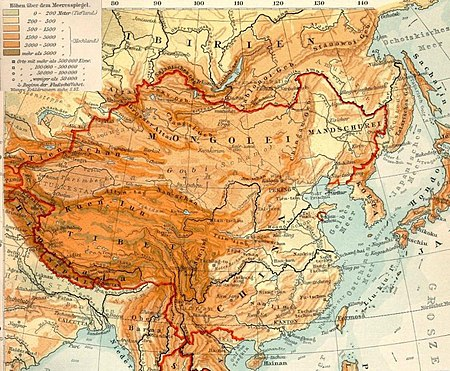 china gebirge karte Mongolisches Plateau – Wikipedia