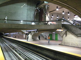 Image illustrative de l'article Monk (métro de Montréal)