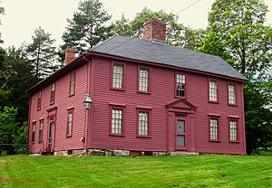 Munroe Tavern (Lexington, Massachusetts) - Image: Monroe Tavern Lexington Massachusetts