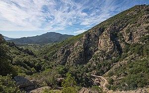 Haut-Languedoc Regional Nature Park - Southern end of the Gorges d'Héric, Mons, Hérault.