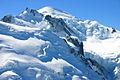 Mont Blanc von Gare des Glaciers aus gesehen.JPG