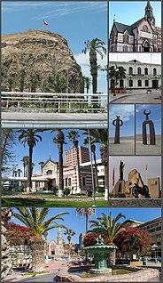 Arica City and Commune in Arica y Parinacota, Chile