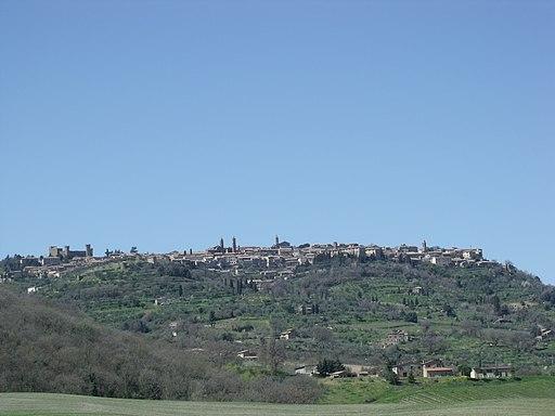 Montalcino, Panorama