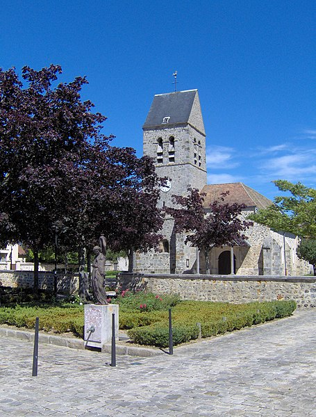 Église Saint-Martin à Montigny-le-Bretonneux.
