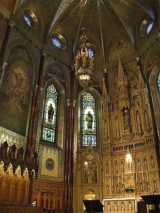 St. Patrick's Basilica, Montreal - Image: Montreal St Patricks 3 tango 7174