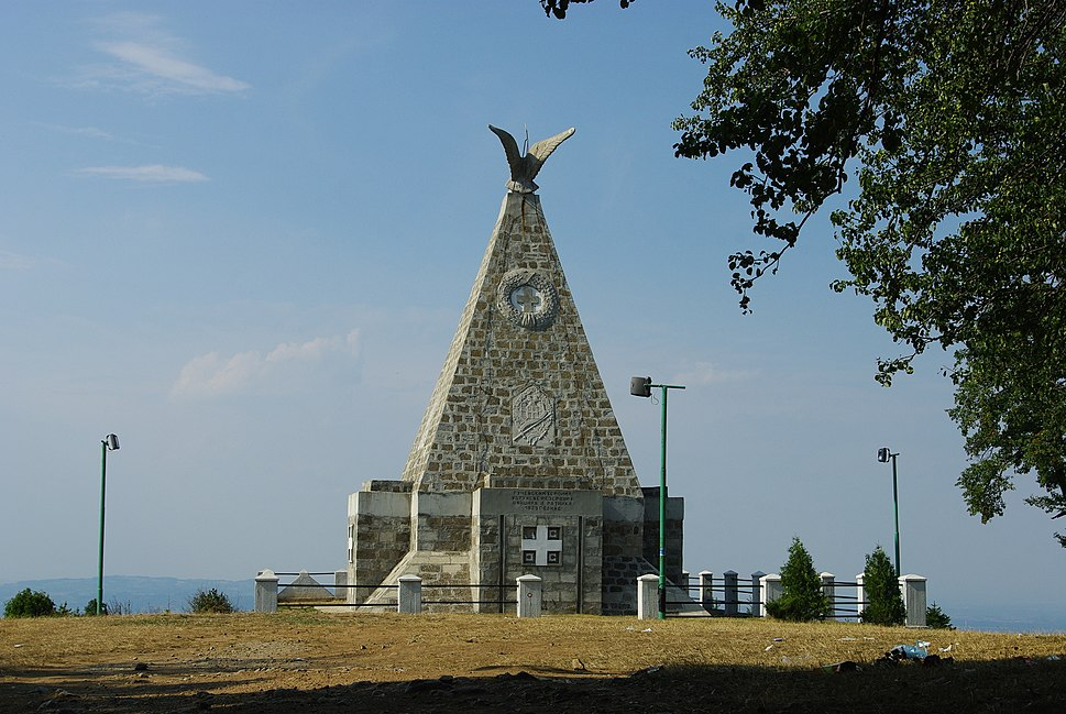 Monument on Gucevo hill