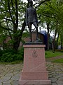 Monument to King Haakon 7 of Norway in Trondheim.jpg