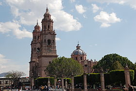 Image illustrative de l'article Cathédrale Saint-Sauveur de Morelia