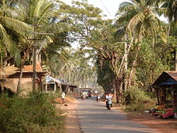 A road in Morjim