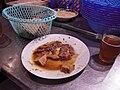 Moroccan food and drink - food on Djemaa el Fna (5367525695).jpg