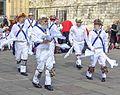 Morris dancers, York (26569291692).jpg