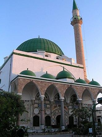 El-Jazzar Mosque - Image: Mosque Al Djazar