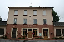 The mairie in Moulin-Mage