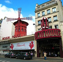 Photographie du Moulin Rouge