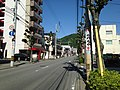 Mount Bizan from downtown of Tokushima, Tokushima 1.JPG
