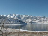Mount Timpanogos from Deer Creek Reservoir.jpg