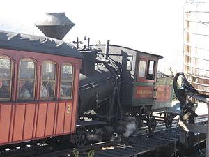 Green Mountain Cog Railway - Image: Mount Washington Cog Railway Agiocochook