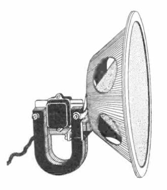 Moving iron speaker - Moving iron speaker